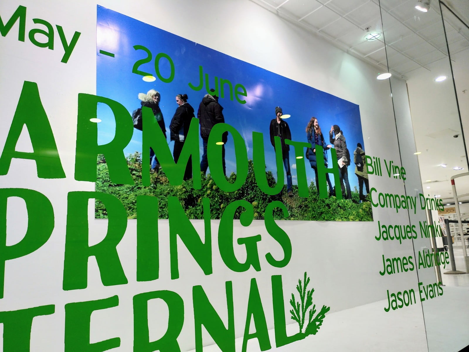 19th May 2021: Yarmouth Springs Eternal: The Exhibition