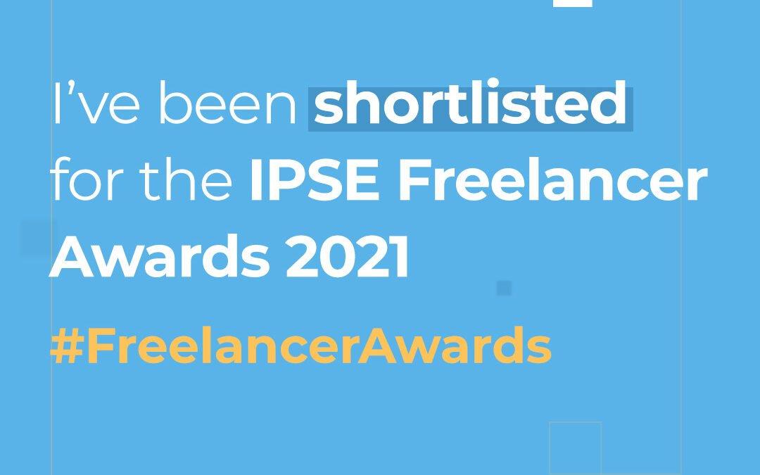 27th August 2021: IPSE Freelancer Awards shortlist